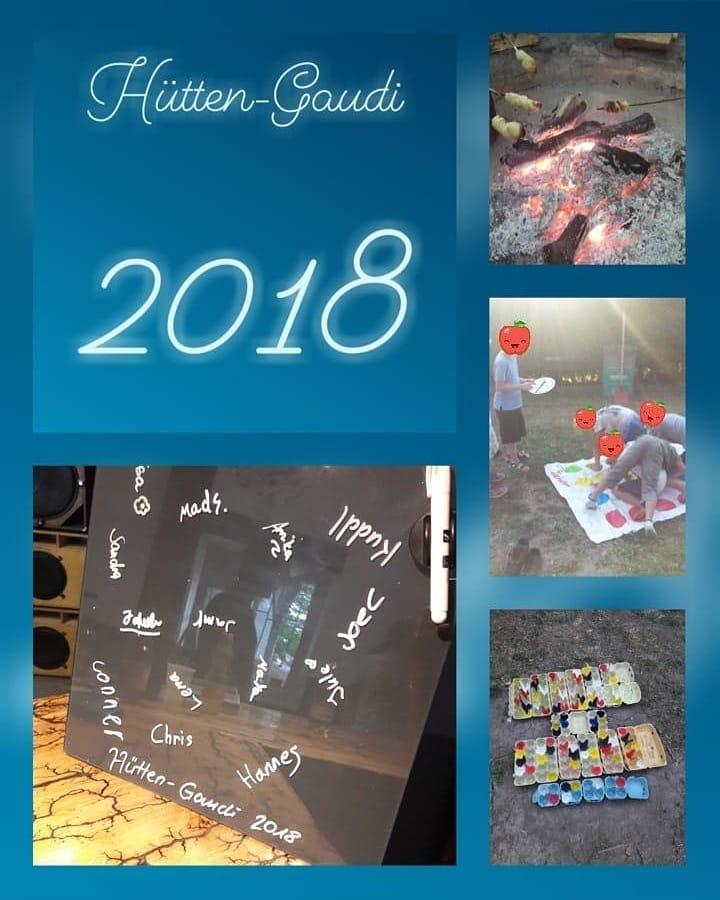 Hütten-Gaudi 2018